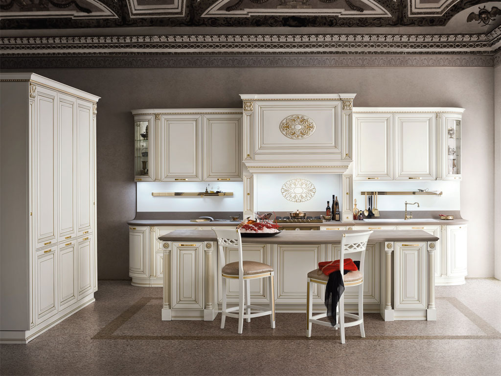 Cucina Classica Bianca. Fabulous Dora Cucina Classica With Cucina ...
