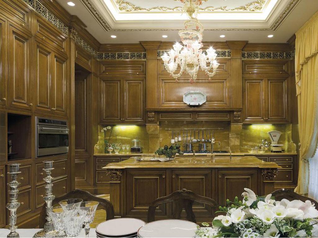 Ghotic style cucine classiche in stile imperiale for Cucine in stile