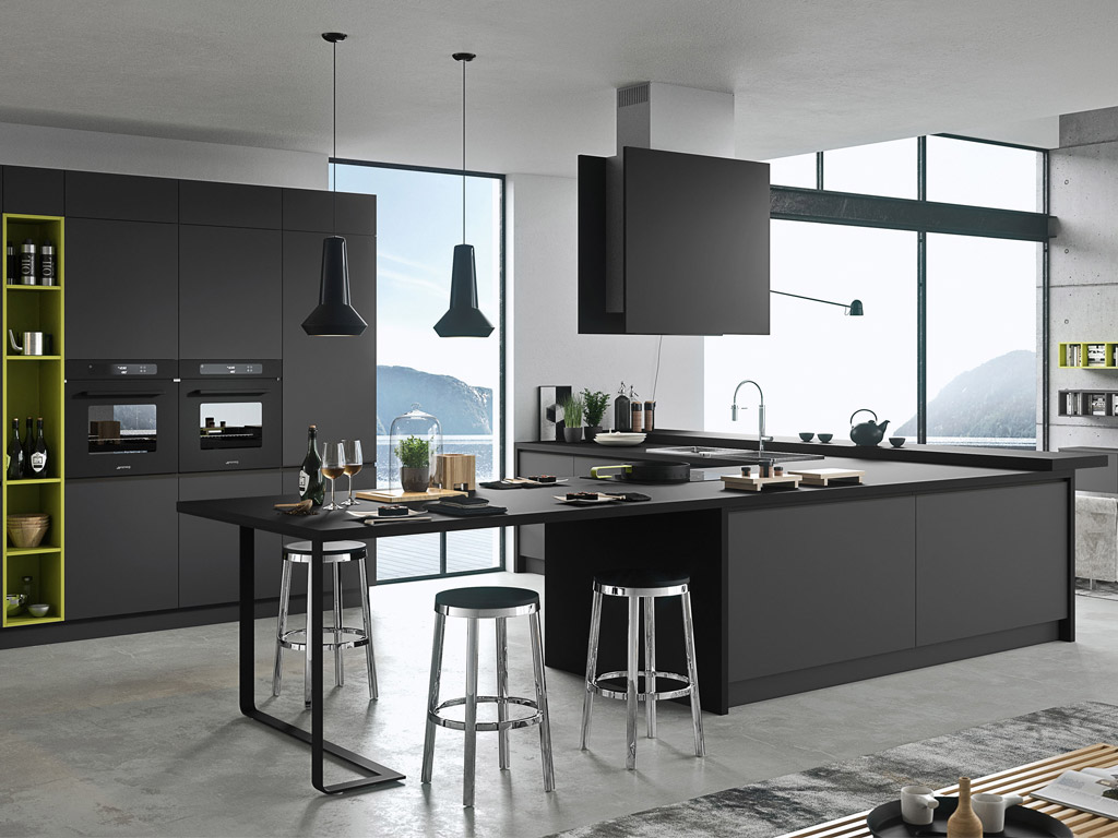 Cucine Hi Tech. Gallery Of Cucine Retro Beautiful Uno Stile Ideale ...
