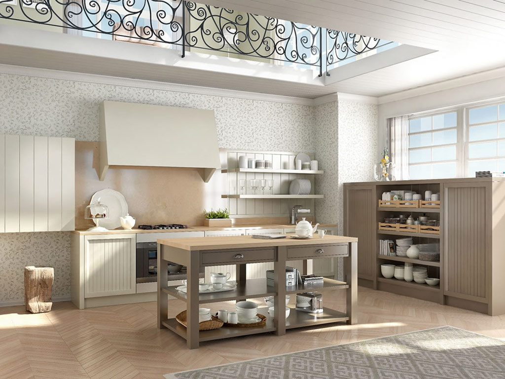 Moon - Cucine country in villa