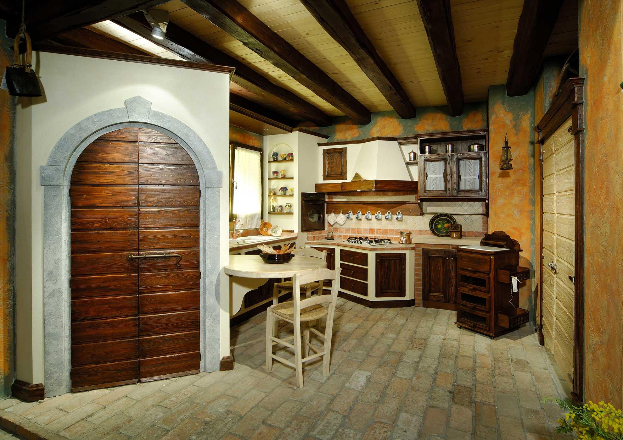 Vecchio Casale - Cucine in muratura