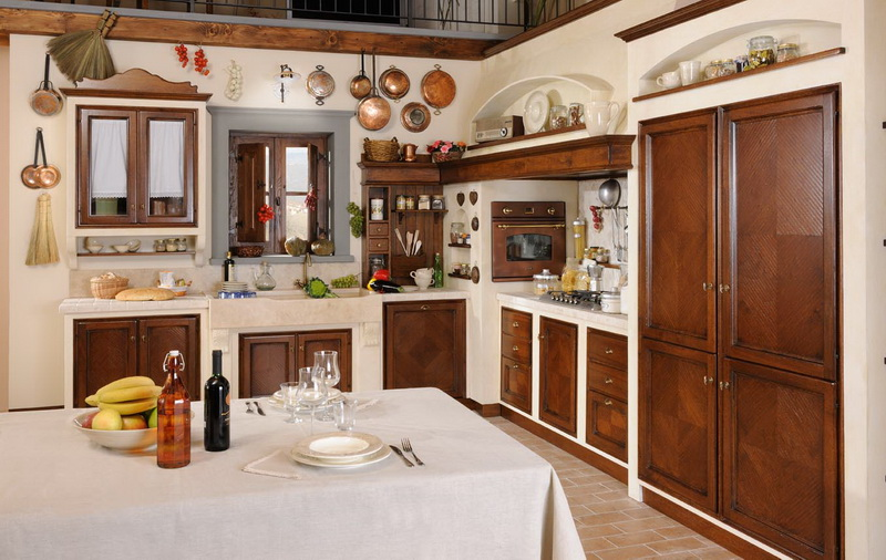 cucina in muratura borgo antico